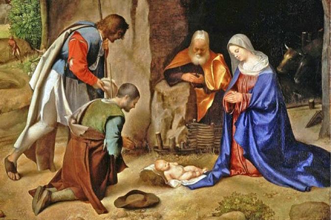 Znalezione obrazy dla zapytania boże narodzenie malarstwo włoskie